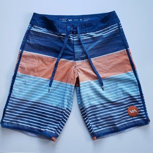RVCA Performance Stretch Board Shorts Size 31